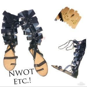 ‼️🔥NWOT ETC.! RUE21 MidCalf Gladiator Sandals!🔥